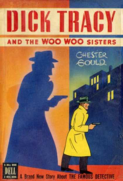 Dell Books - Dick Tracy and the Woo Woo sisters - Chester Gould