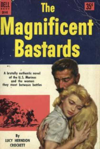 Dell Books - The Magnificent Bastards - Lucy Herndon Crockett
