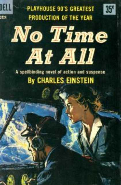 Dell Books - No Time at All - Charles Einstein