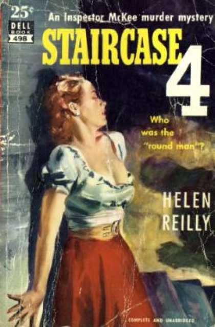 Dell Books - Staircase Four - Helen Reilly