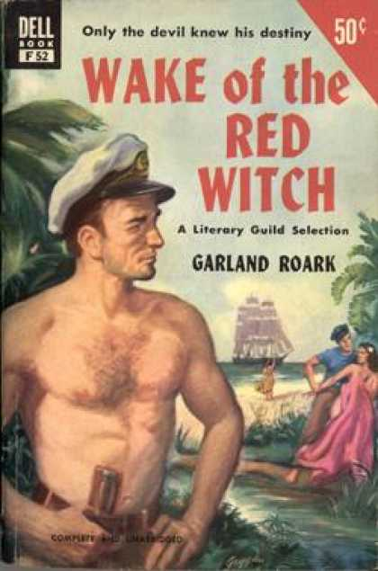 Dell Books - Wake of the Red Witch - Garland Roark