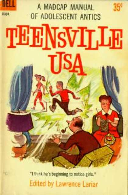 Dell Books - Teensville Usa
