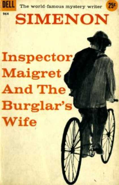 Dell Books - Inspector Maigret and the Burglar's Wife - Georges Simenon