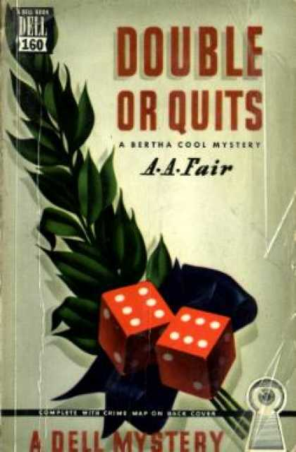 Dell Books - Double or quits - A. A. Fair