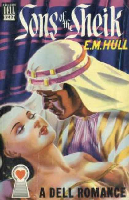 Dell Books - The Sons of the Sheik - E. M Hull
