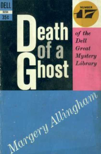 Dell Books - Death of a Ghost - Margery Allingham