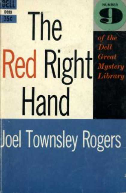 Dell Books - The Red Right Hand - Joel Townsley Rogers