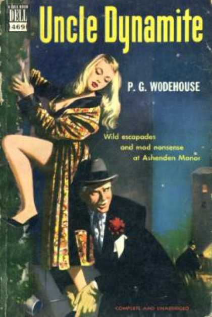 Dell Books - Uncle Dynamite - P. G. Wodehouse