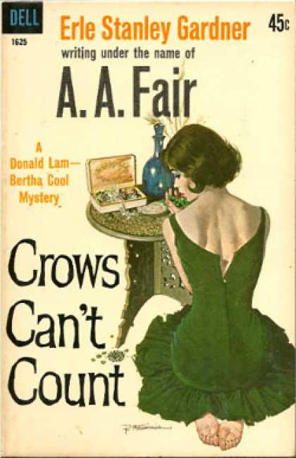 Dell Books - Crows Can't Count - A.a. Fair