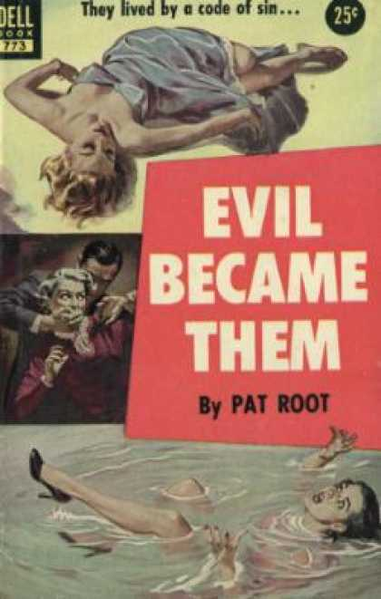 Dell Books - Evil Became Them - Pat Root