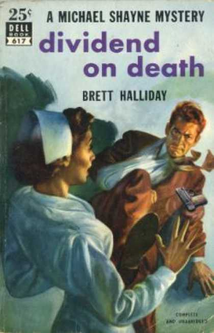 Dell Books - Dividend On Death (vintage Dell, #617) - Brett Halliday