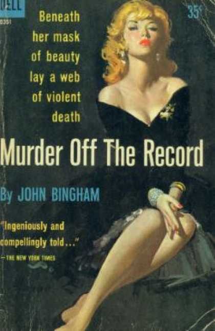 Dell Books - Murder Off the Record