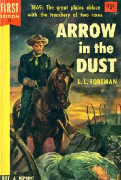 Dell Books - Arrow In the Dust - L. L. Foreman