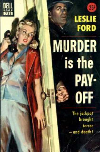 Dell Books - Murder Is the Pay-off