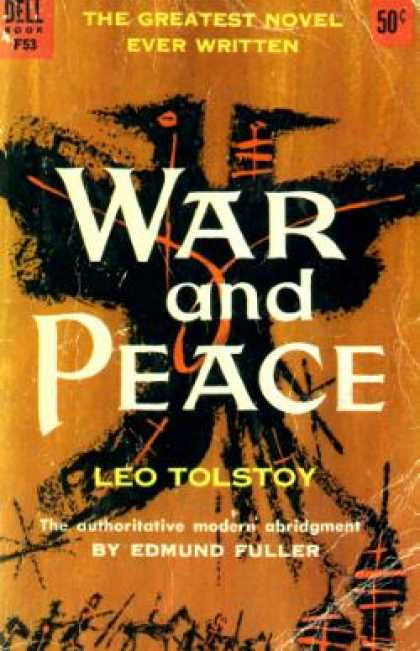 Dell Books - War and Peace the Authoritative Modern Abridgement - Leo Tolstoy