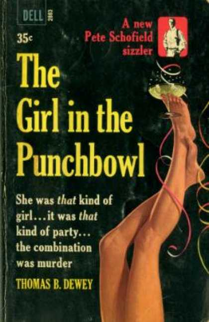 Dell Books - The Girl In the Punchbowl - Thomas B. Dewey