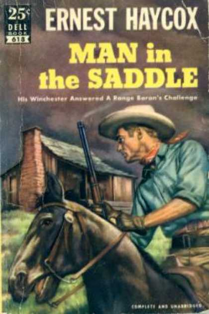 Dell Books - Man In the Saddle - Ernest Haycox