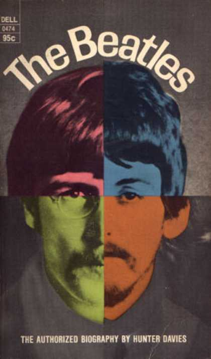 Dell Books - The Beatles - Hunter Davies