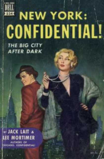Dell Books - New York: Confidential! - Jack; Mortimer, Lee Lait