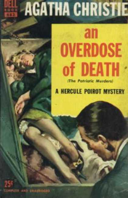 Dell Books - An Overdose of Death (vintage Dell, #683) - Agatha Christie