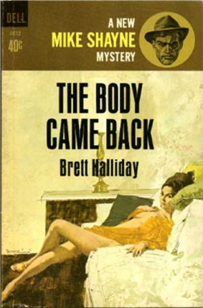 Dell Books - The Body Came Back - Brett Halliday