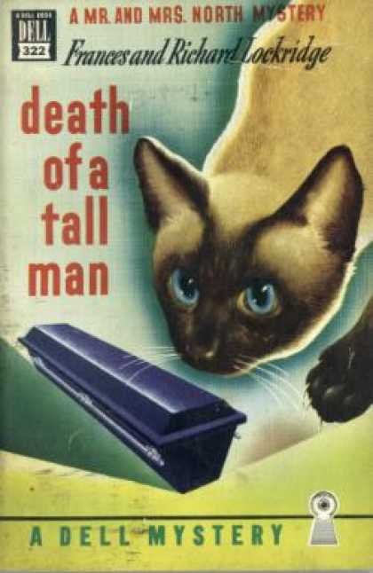 Dell Books - Death of a Tall Man - Frances Lockridge