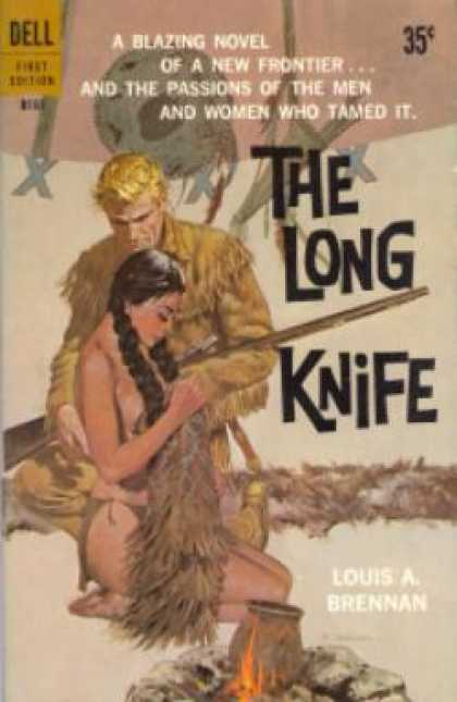 Dell Books - The Long Knife - Louis a Brennan