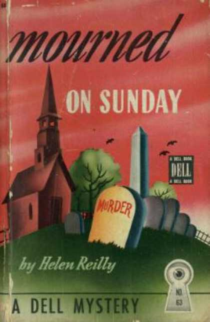 Dell Books - Mourned On Sunday