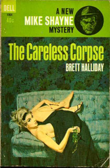 Dell Books - The Careless Corpse: Michael Shayne's 41st Case - Brett Halliday
