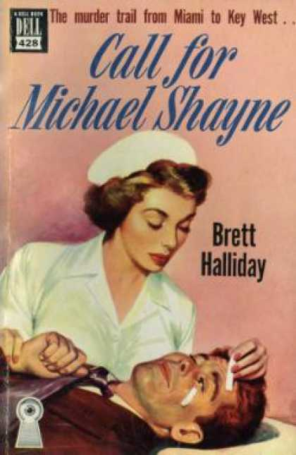 Dell Books - Call for Michael Shayne - Brett Halliday