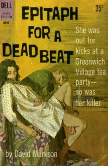Dell Books - Epitaph for a Tramp and Epitaph for a Dead Beat: The Harry Fannin Detective Nove