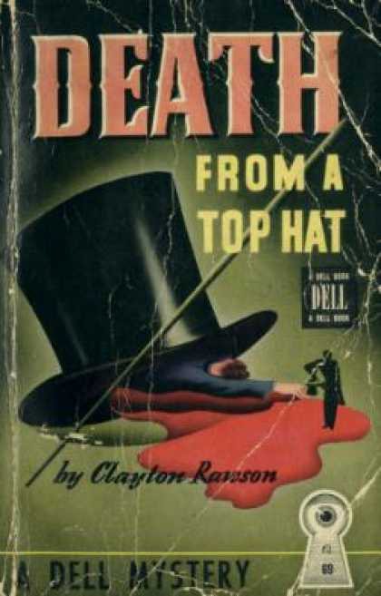 Dell Books - Death From a Top Hat: A Great Merlini Murder Mystery