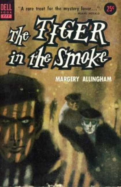 Dell Books - The Tiger in the Smoke - Margey Allingham