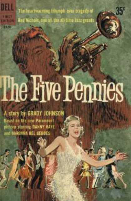 Dell Books - The Five Pennies - Grady Johnson
