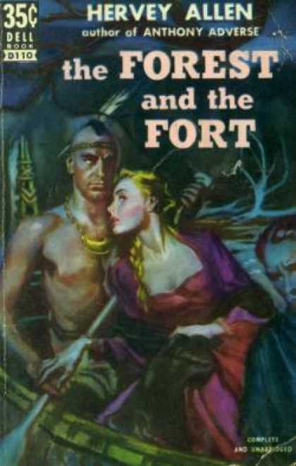 Dell Books - The Forest and the Fort - Hervey Allen