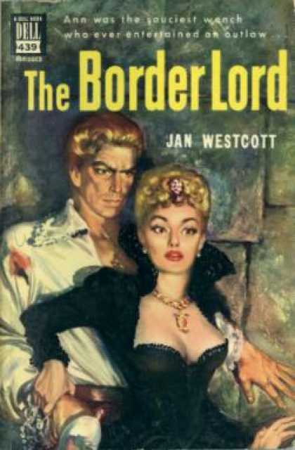 Dell Books - The Border Lord - Jan Wescott