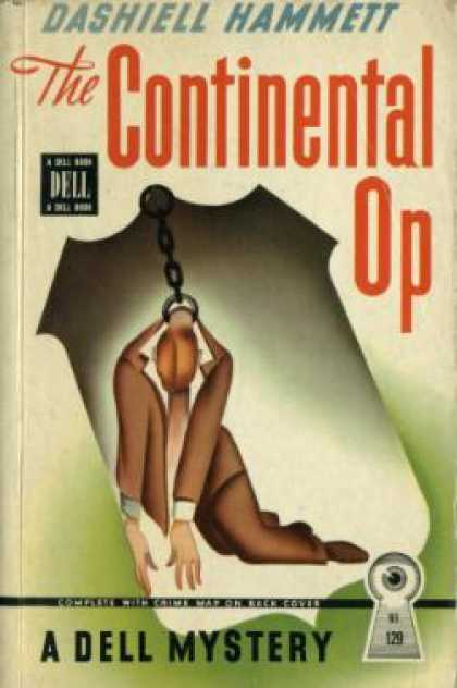 Dell Books - The Continental Op: This Contains: Fly Paper; Death On Pine Street; Zigzags of T