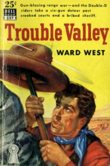Dell Books - Trouble Valley - Ward West