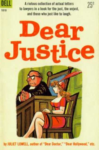 Dell Books - Dear Justice - Juliet Lowell