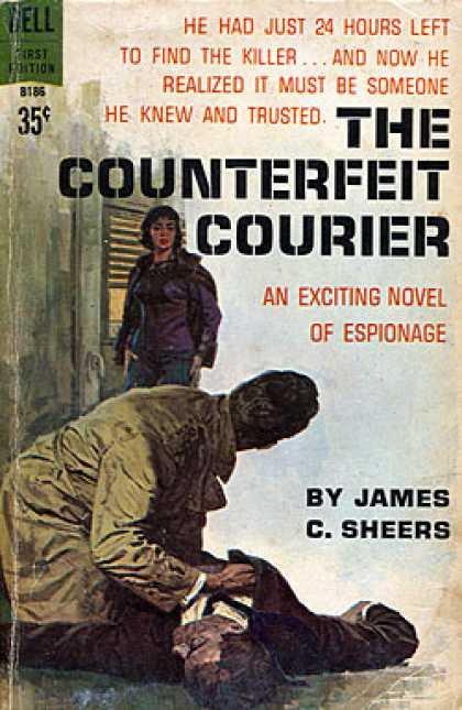 Dell Books - The Counterfeit Courier