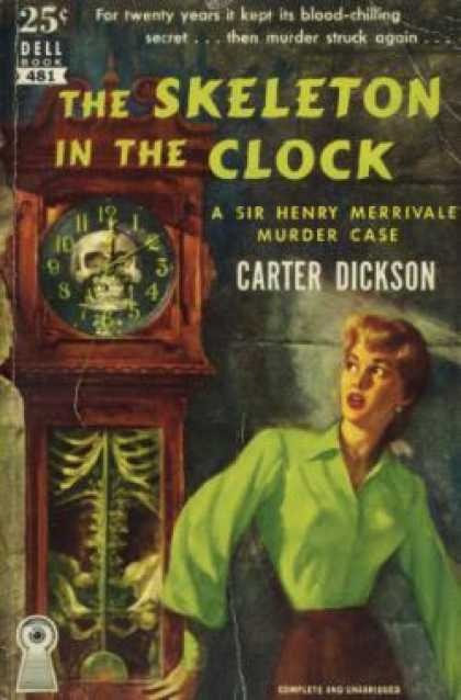 Dell Books - The Skeleton In the Clock
