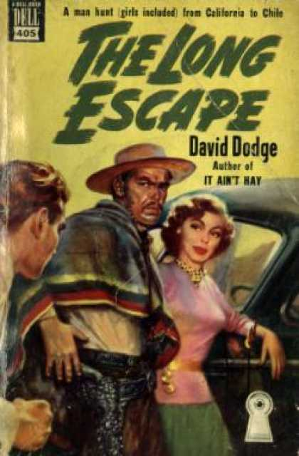 Dell Books - The Long Escape - David Dodge