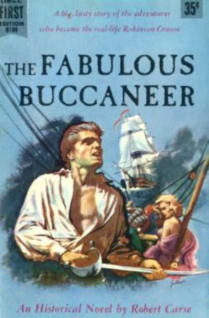 Dell Books - The Fabulous Buccaneer - Robert Carse