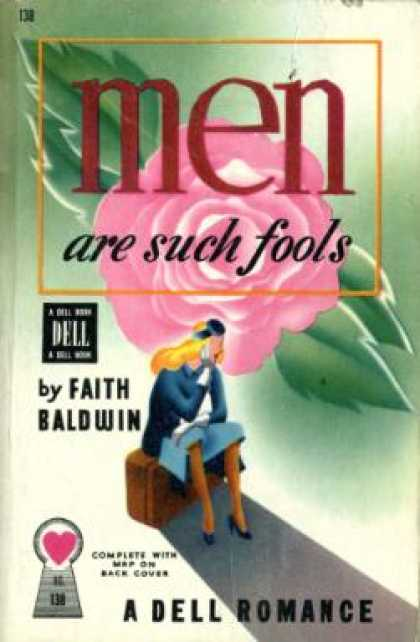 Dell Books - Men Are Such Fools Decorate By Theme Premium Giclee Poster Print, 11x14
