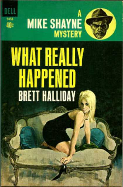 Dell Books - What Really Happened - Brett Halliday