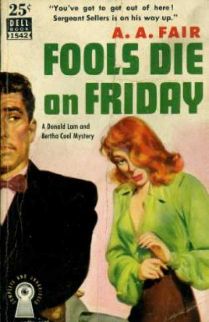 Dell Books - Fools Die On Friday :gardner