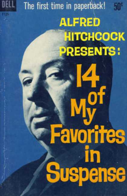 Dell Books - Alfred Hitchock Presents: 14 of My Favorites in Suspense