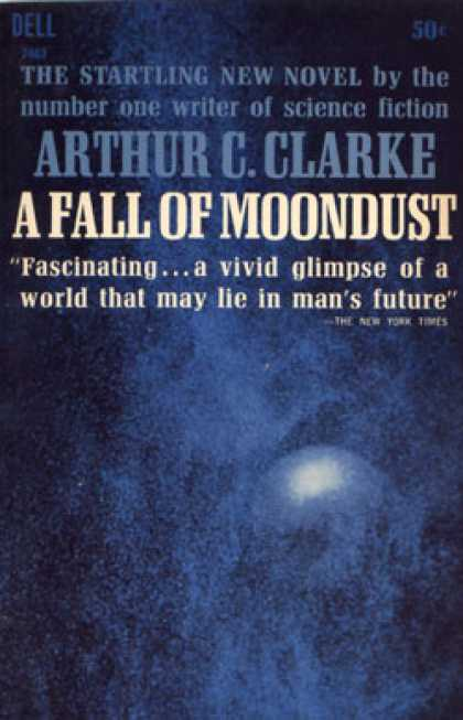 Dell Books - A Fall of Moondust - Arthur C. Clarke