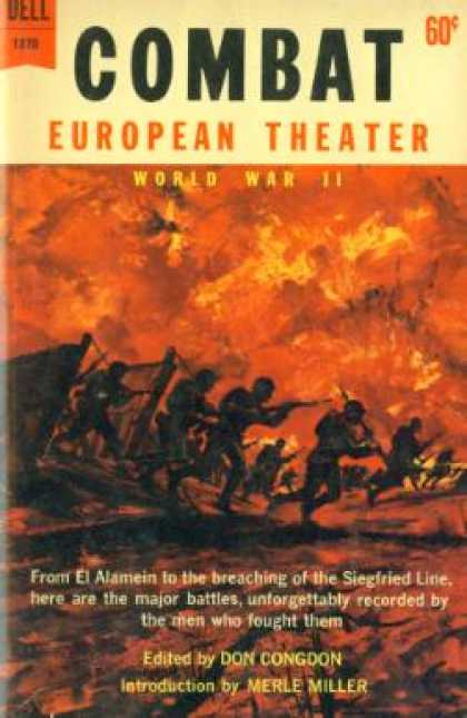 Dell Books - Combat: European Theater - World War Ii - Don Congdon