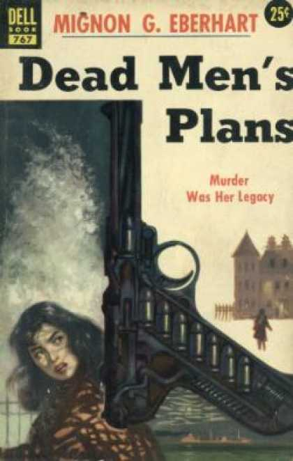 Dell Books - Dead Men's Plans - Mignon G. Eberhart